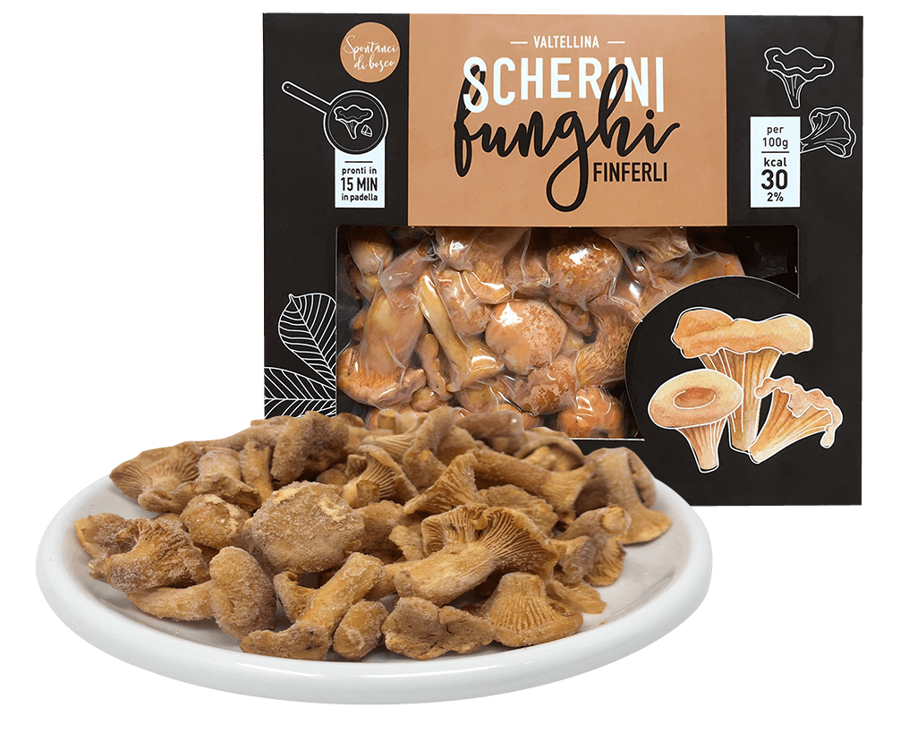 Scherini frozen chanterelles