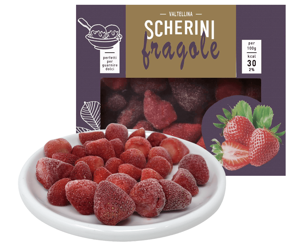 Fragole surgelate Scherini