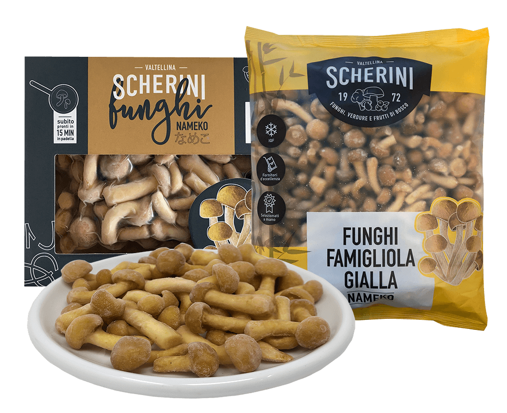 Scherini frozen nameko mushrooms