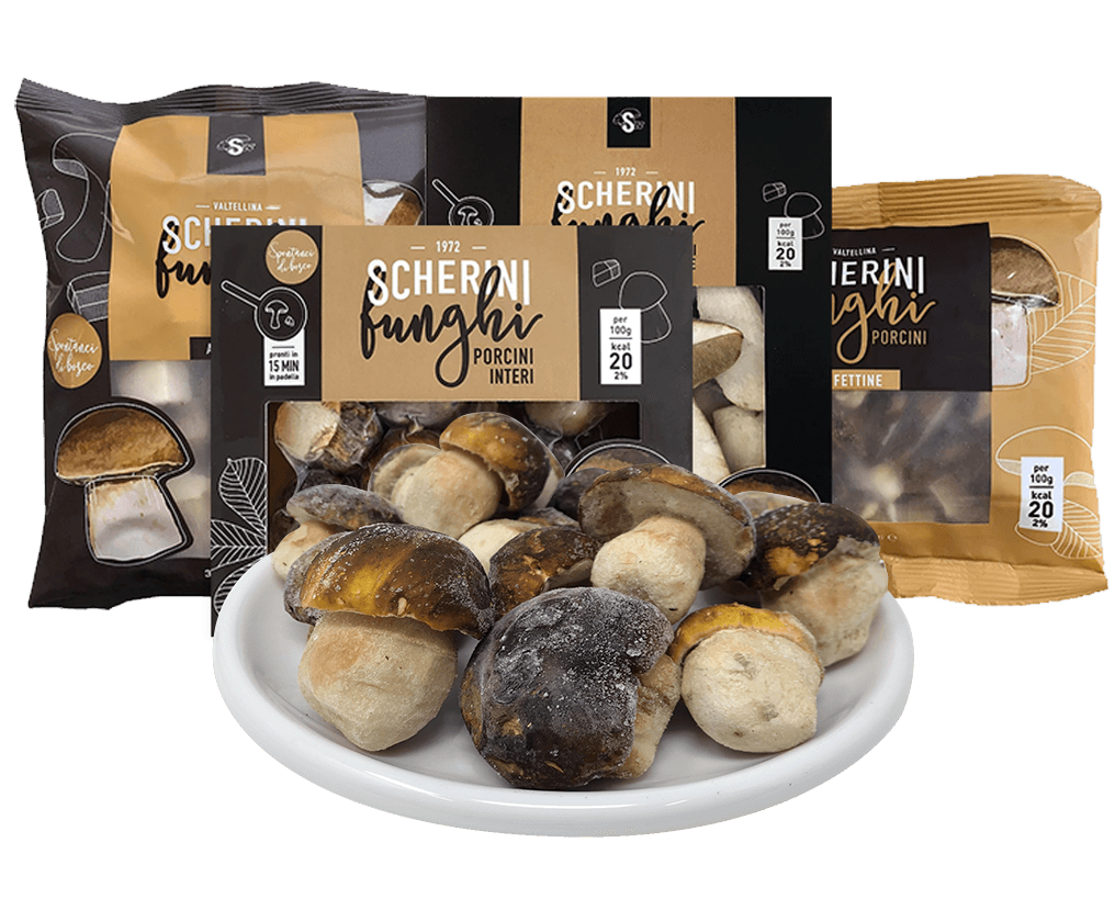 Scherini dried porcini mushrooms