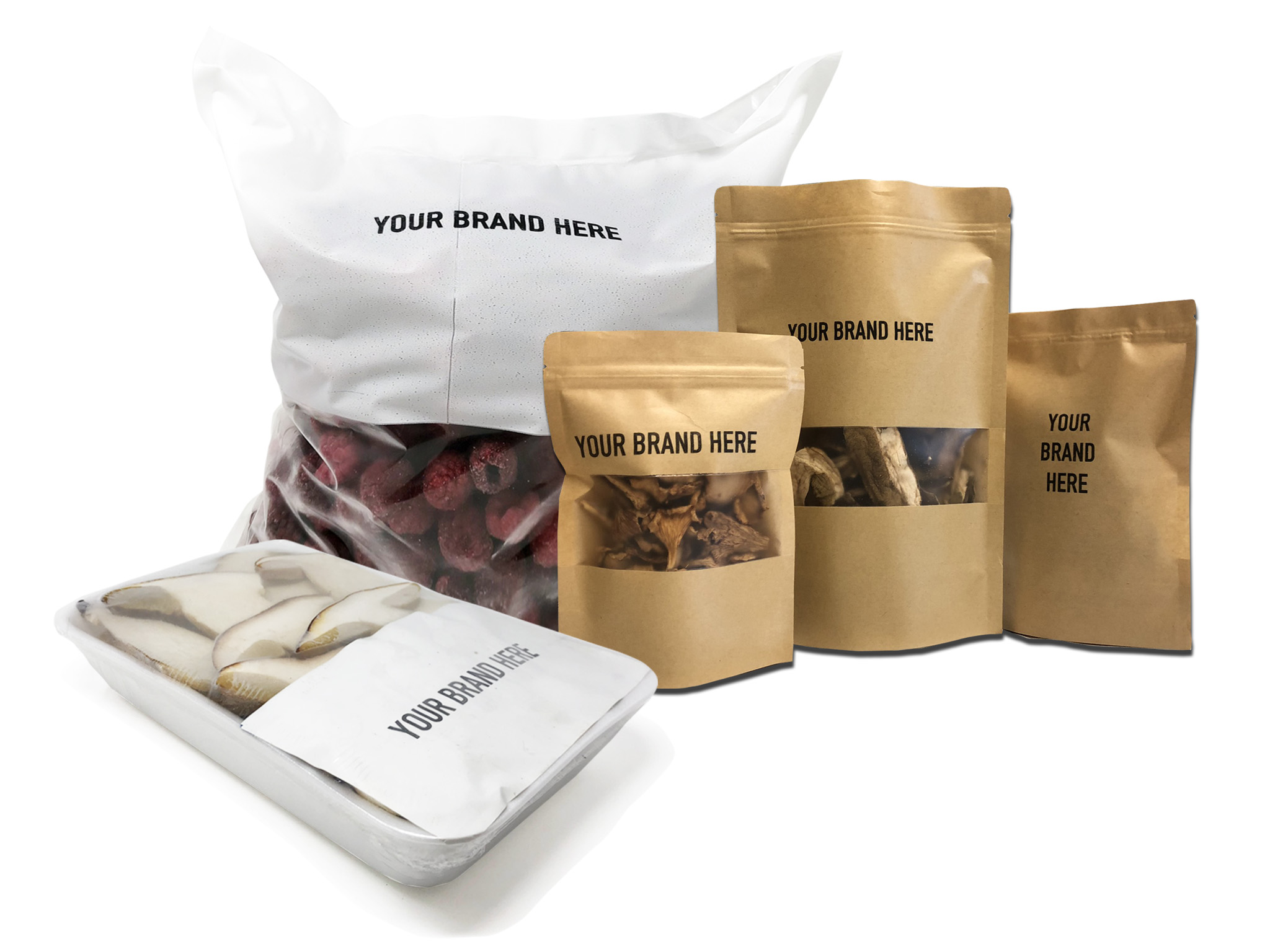 provision of products with custom retail labels